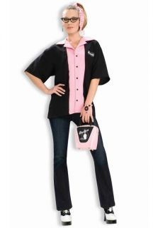 Queen Pins Bowling Shirt Halloween Costume Adult Standard One Size