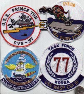 Patch USS Princeton CVS 37 WW2 WWII Air Craft Carrier Squadron