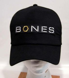 Bones TV Series Logo Baseball Cap Hat w Patch