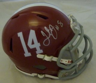 Julio Jones Autographed Signed Alabama Crimson Tide Mini Helmet w JSA