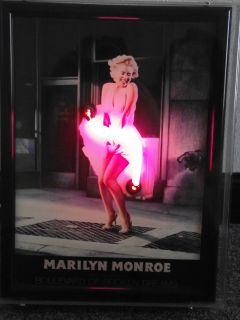 Marilyn Monroe Boulevard of Broken Dreams Skirt Bar Light Man Cave