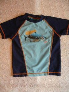 Boys Disney Finding Nemo Rash Guard Swim Shirt Top 3T Fun
