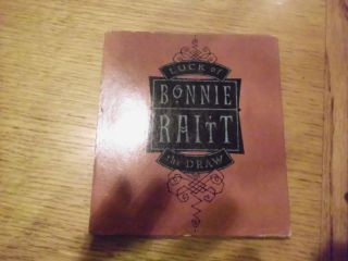 Bonnie Raitt Luck of The Draw CD Used 077779611126