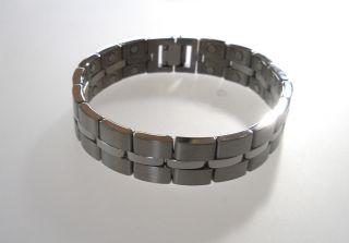 Germanium Energy Magnetic Power Health Mens Bracelet NW