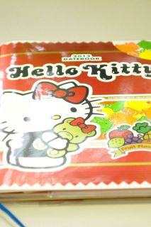 2013 Hello Kitty Schedule Book Monthly Planner Agenda Diary Fruit