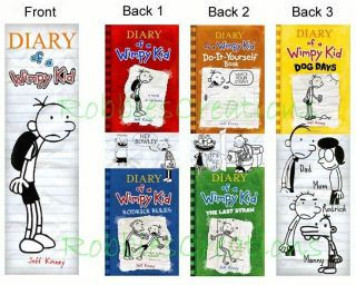 Diary of A Wimpy Kid Bookmarks Dog Days Books Marker