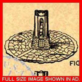 Dark Tower Game Patent Milton Bradley Board 1981 623