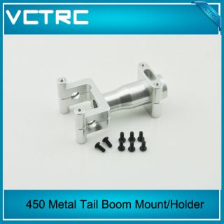 VCTRC New Metal Tail Boom Mount Holder for Align Trex T Rex 450 Pro V2