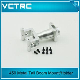 VCTRC New Metal Tail Boom Mount Holder for Align Trex T Rex 450 Pro V2