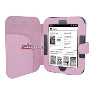 Bookstyle Leather Case Cover For Nook 2 Simple Touch WIFI 6 eReader