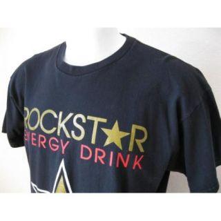 Vintage Rockstar Energy Ferocious Fernando Vargas Boxing Fan T Shirt