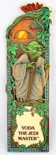 description 1983 star wars yoda jedi master bookmark 8 measures
