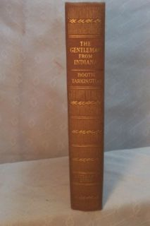 Old Book The Gentleman from Indiana Booth Tarkington