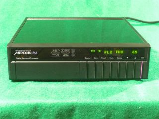 Boothroyd Stuart Meridian 568 Digital Surround Controller Processor No
