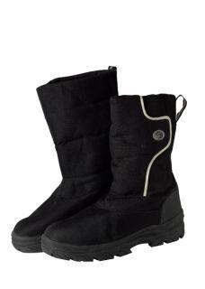 Mens Fleece Lined Snow Boots Apres Ski Moon Shoes Boys Mucker Boot UK