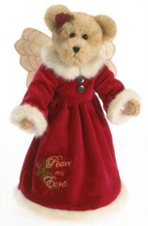 Boyds Bears Peace on Earth Teddy Bear Holiday Christmas Tree Topper