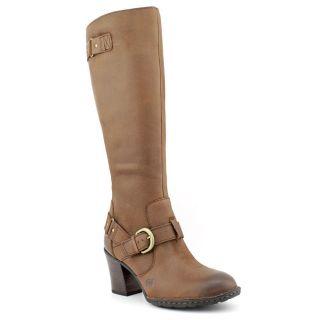 Born Natasha Womens Size 8 Brown Leather Fashion   Knee High Boots