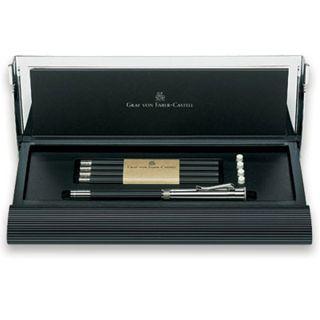 notepads notebooks graf von faber castell black perfect pencil set