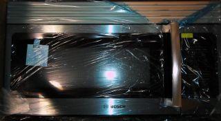 Bosch HMV3051U 1 6 CU ft Stainless Steel Over The Range Microwave