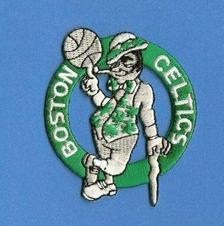 Boston Celtics NBA Basketball Logo Patch Crest Sports