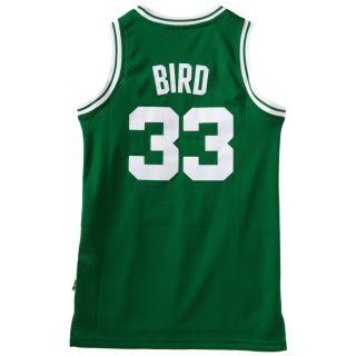 Boston Celtics Larry Bird Swingman Green # 33 Jersey sz Small