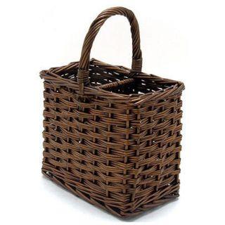 Wicker Wine Bottle Holder Basket 85482