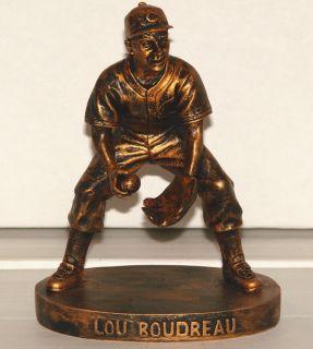 LOU BOUDREAU Cleveland Indians 2006 Exclu. Bronze Hartland Figurine (1