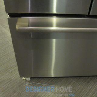 Viking DDFF136DSS 36 French Door Refrigerator Freezer