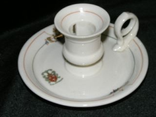 Vintage The Andrews Hotel Candle Stick Holder Lamberton China