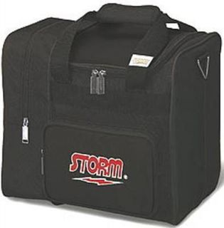 Storm Deluxe 1 Ball Bowling Bag Color Black