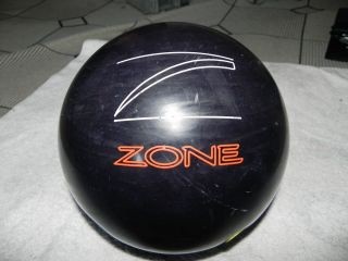 DANGER ZONE FINGER TIP 15 POUND RED DOT BOWLING BALL BLACK JJK1044