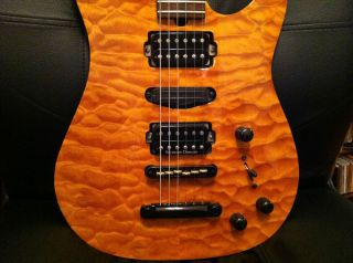 Brian Moore USA Custom Shop C90P one off Korina Brazilian Rosewood PRS