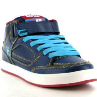 Etnies Number Mid Mens Shoe Navy Blue White Sizes UK 7 12