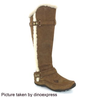 New The North Face Womens Brianna Boots Shoes Brown Sz 7