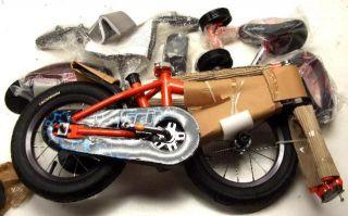 Schwinn Pacific Cycle Boys 12 inch Grit Bike w Push Steer Handle
