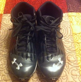 Armour Youth Boys Football Cleats 6Y Excellent Condition Nice Shoes