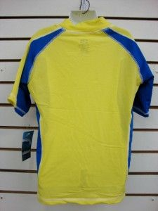 boys spf 50 surf shirt rash guard short sleeve small thru 2xl rgcps