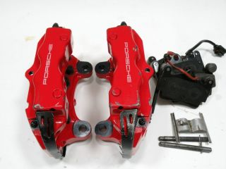 Cayenne Turbo 955 Bremssättel Brembo Ha Rear Brake Calipers
