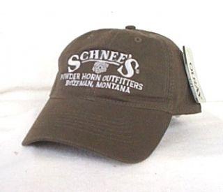 BOZEMAN MONTANA OUTFITTERS Hunting Fishing Ball cap Baseball hat OURAY