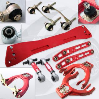 Arms+Bushing Kit+Rear Camber Kit+Rear Lower Control Arm+Subframe Brace