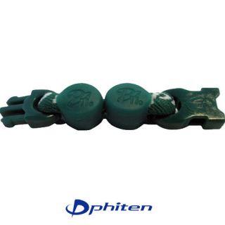 Phiten Green 2 inch Baseball Necklace Bracelet Extender