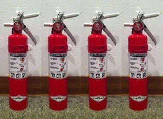 Amerex Abc 2 5Lb Fire Extinguisher Vehicle Bracket Pack Of 4 New Auth