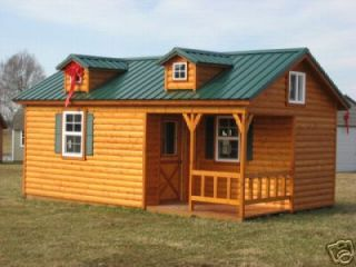 Log Cabin Kit Complete Precut Build Anywhere
