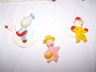 Vintage Musical Irmi Mother GOOSE Nursery Baby Mobile Hand Painted