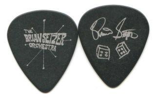 Brian Setzer Orchestra 2009 Concert Tour Guitar Pick Custom Stage