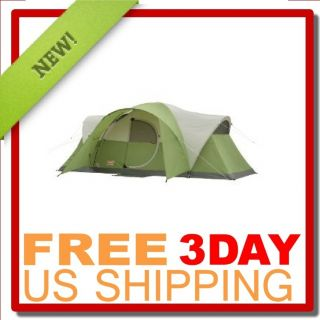 Brande New SEALED Coleman Montana 8 Person Tent