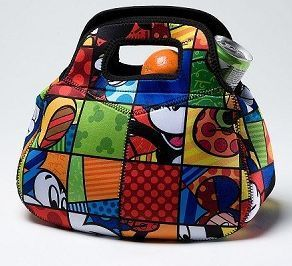 Romero Britto Disney Mickey Mouse Lunch Bag by Enesco