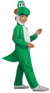 Child Super Mario Bros Yoshi Halloween Costume Small 4 6 Medium 8 10