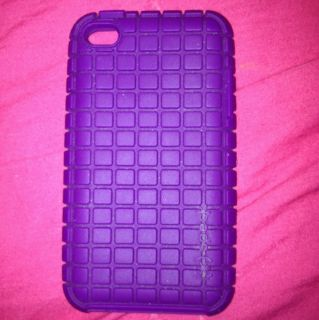 iPod Touch 4th Generation Purple Silicone Case