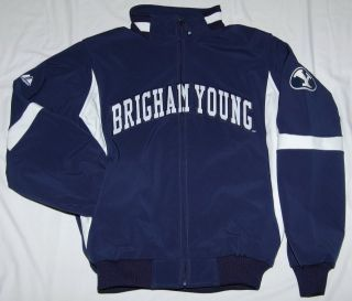 Brigham Young Cougars Full Zip Jacket Majestic BYU XL